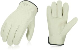 Pigskin Leather Work Gloves
