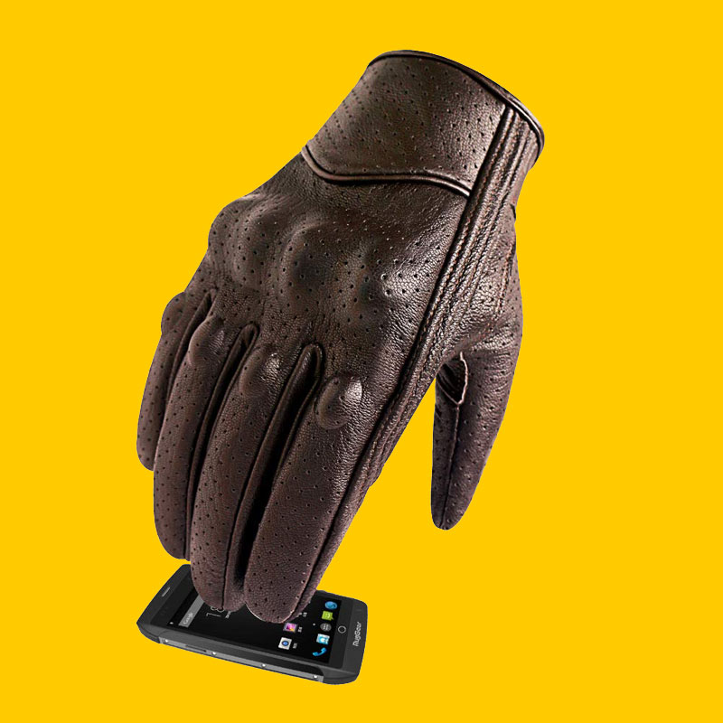 Touchscreen Summer Motorcycle Gloves